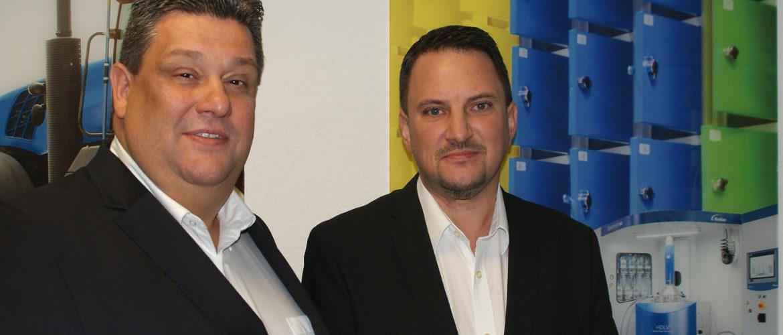 Mario Hahn en Michael Lazin